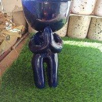 ceramics yoga planters