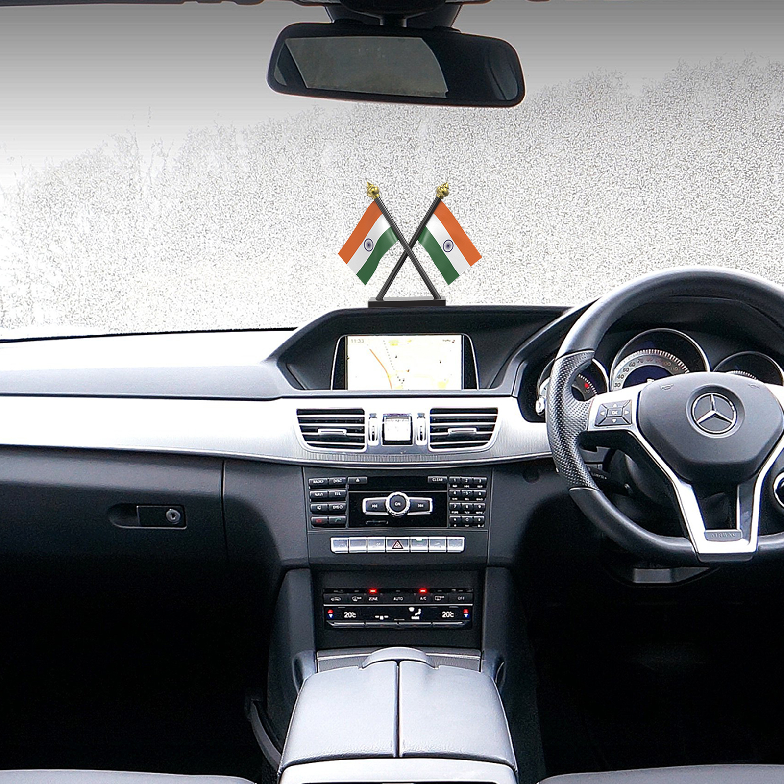 Car Dashboard Flag