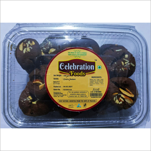 Choco Badam Cookies