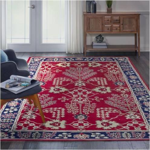 Ulva Red Persian Hand Tufted Carpet