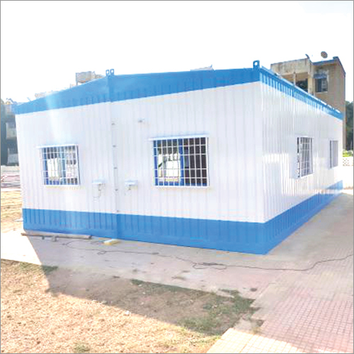 MS Fabricated Portable Site Office Cabins