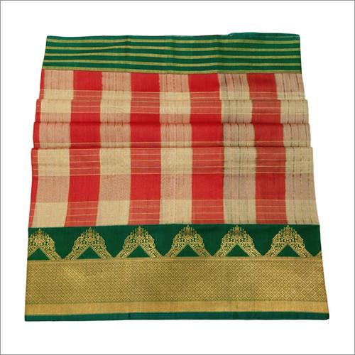 Designer Banarasi Handloom Kadiyal Tussar Saree