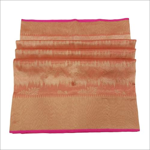 Ladies Organza Handloom Kadhwa Traditional Saree