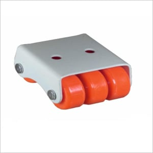 6 Wheel Mini Orange Fix Castor Wheel