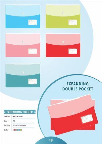 Double Folder Bag (Expending)