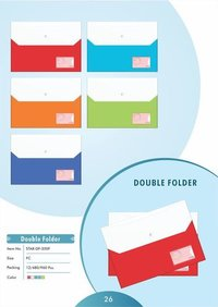 Double Folder Bag