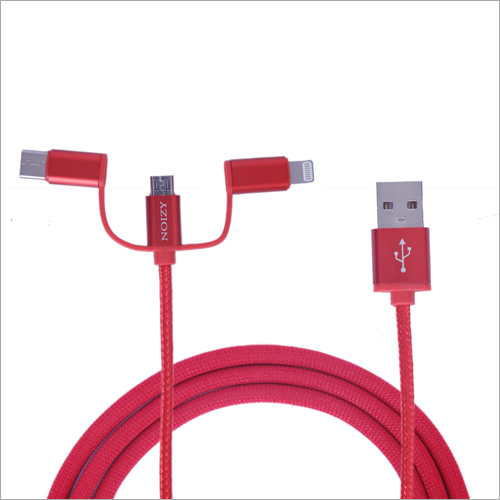 Mobile Three Port USB Cable