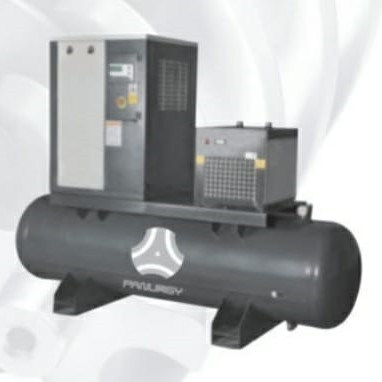 Tank-Mounted Screw Air Compressors
