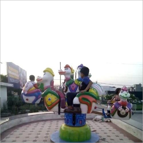 Children Duck Ride