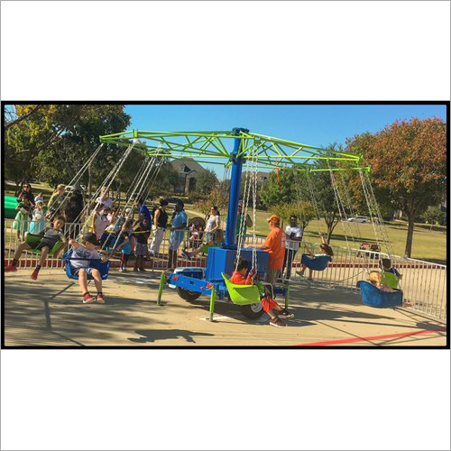 Round Swing Children Ride