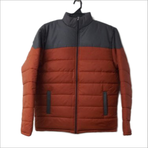 Mens Polyester Winter Jacket