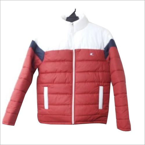 Mens Full Sleeves Polyester Jacket