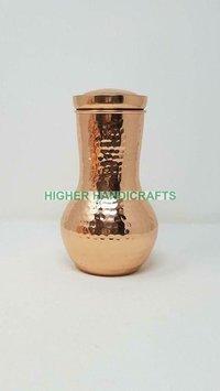 Copper Pot With Inbuilt Glass