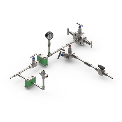 Industrial Fitting Instrument Assembly