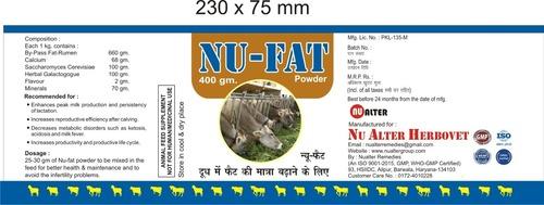Rumen Bypass Fat Supplement