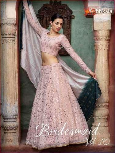 Shubhkala Bridesmaid Vol 10 Georgette Designer Lehenga Choli Catalog