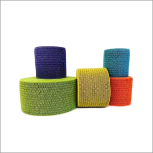 Colored Knitted Elastic Tape