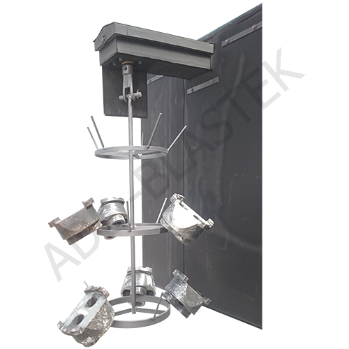 Hanger Type Double Door Shot Blasting Machine
