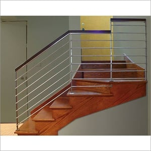 Stainless Steel Modern Staircase Railing