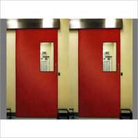 Auto Sliding Fire Resistant Doors