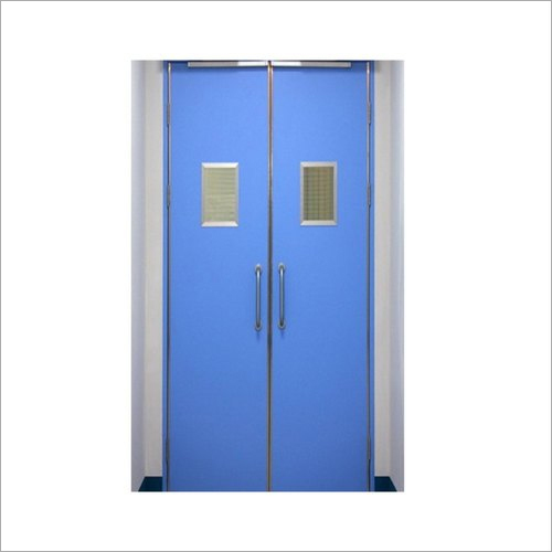 Double Leaf Hinged Fire Resistant Doors
