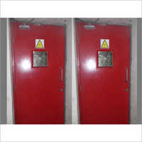 Single Leaf Hinged Fire Resistant Doors