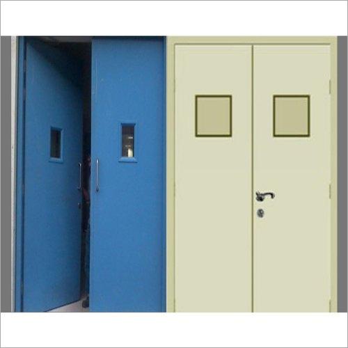 Plate Type Double Leaf Hinge Fire Resistant Door