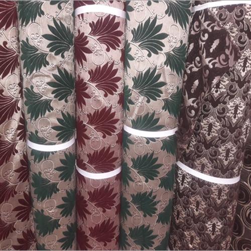 Printed Jacquard Fabric