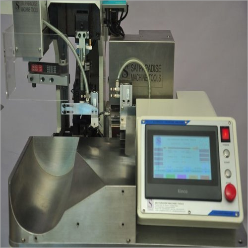Fully Automatic Cut Strip And Single Side Crimping Machine