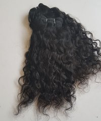 Natural Raw Curly Hair Extension,