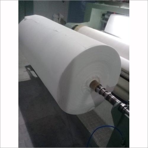 White Melt Blown Fabric
