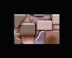 300x450 Digital Elevation Ceramic Wall Tiles