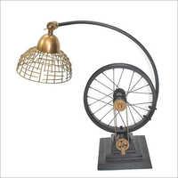 Industrial Table Top Cycle Loop Lamp