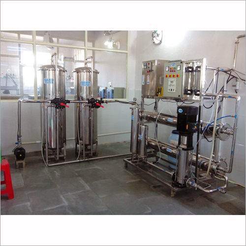 Packaged Drinking RO Plant
