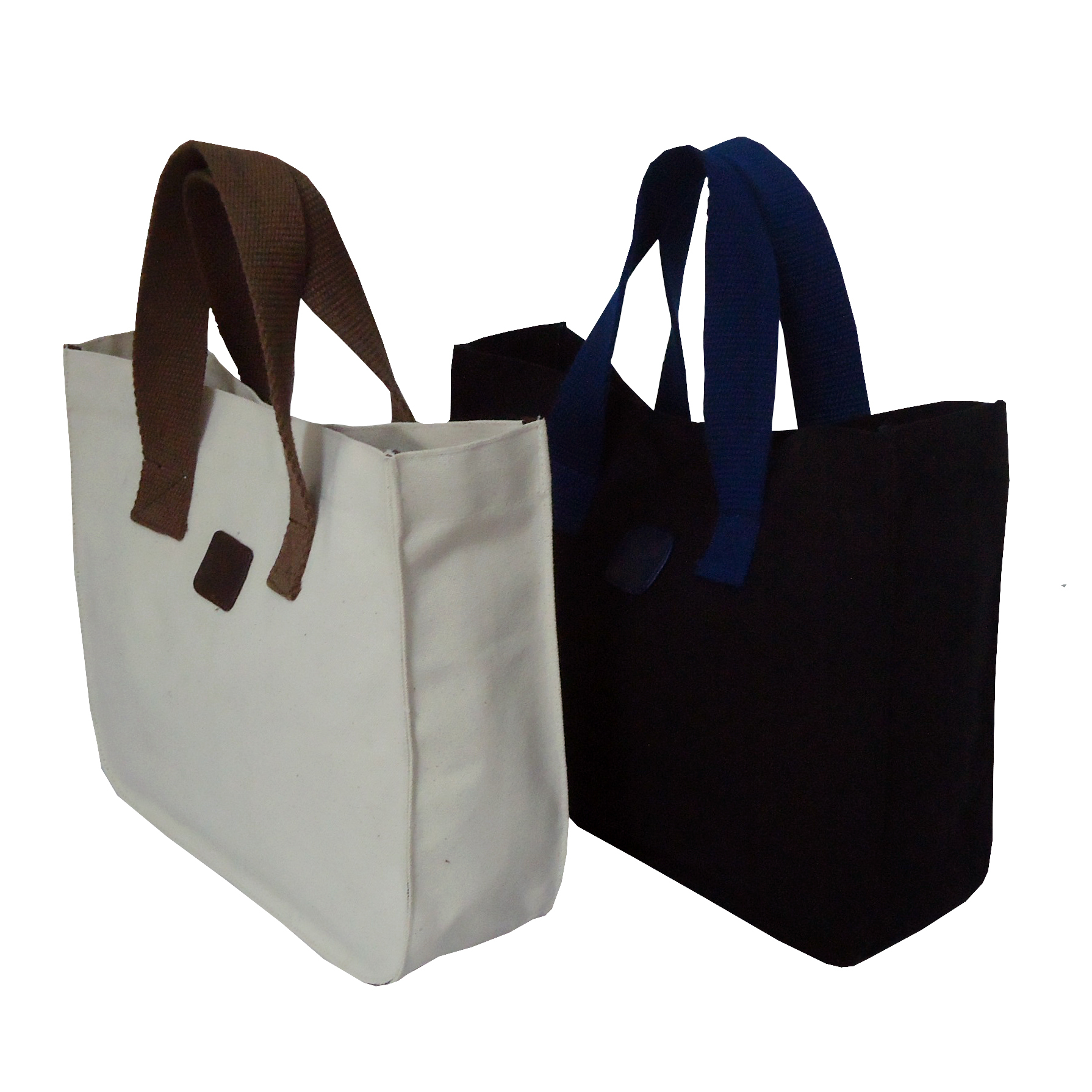 12 Oz Natural & Dyed Canvas Tote Bag