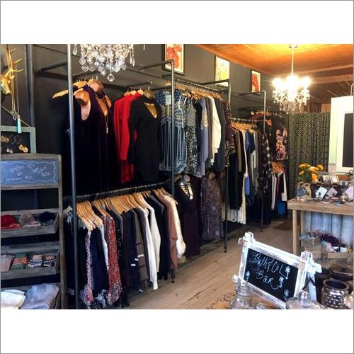 Garment Showroom Display Rack