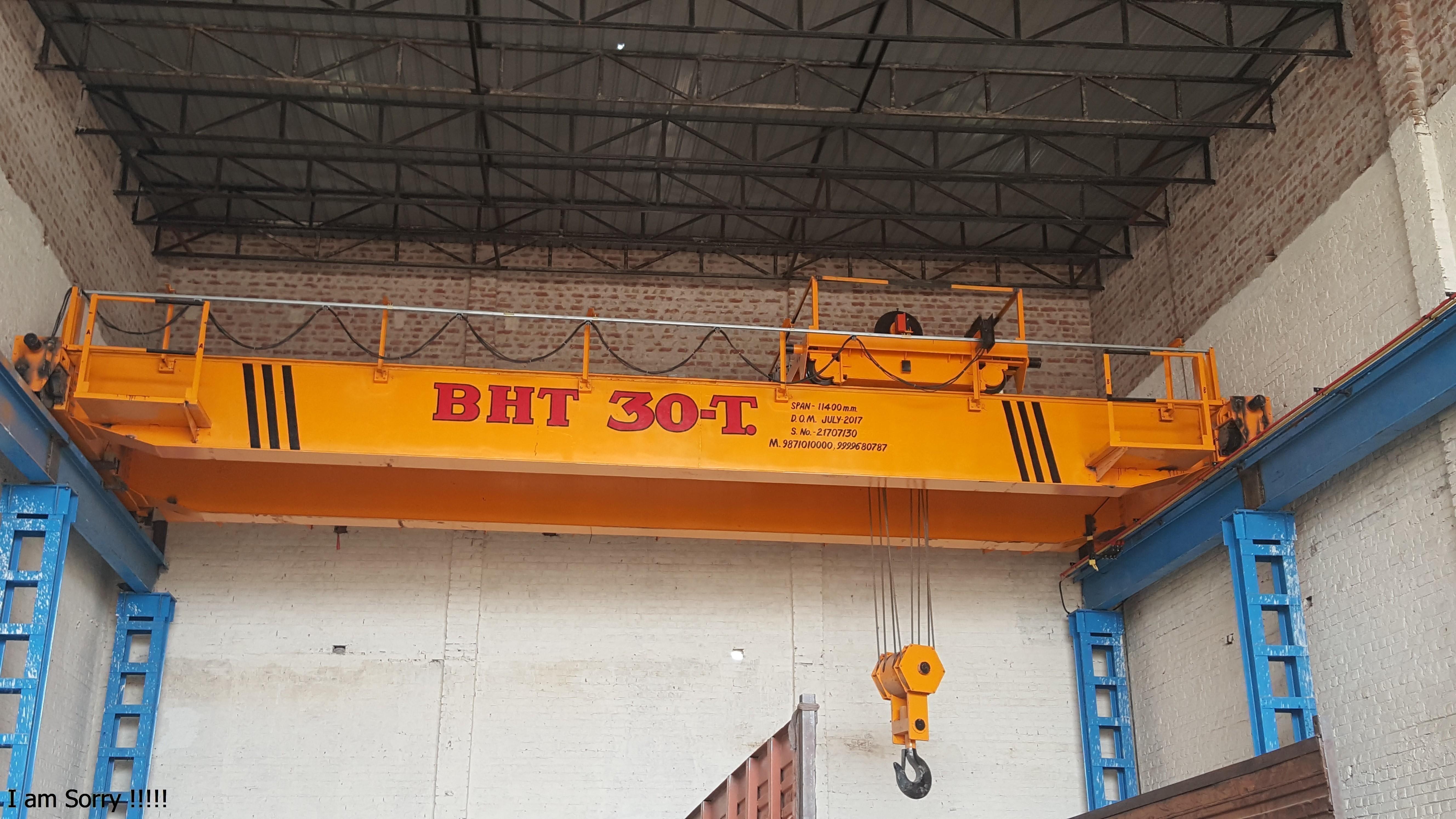 EOT Crane (Double Girder Box Type)