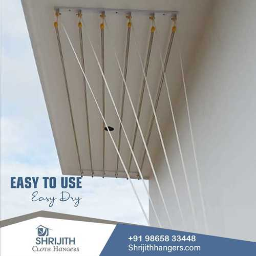 Ceiling Rope Cloth Drying Hanger Manufacturing In Salem