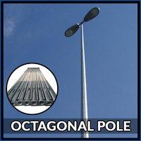 6 Mtr Octagonal Pole
