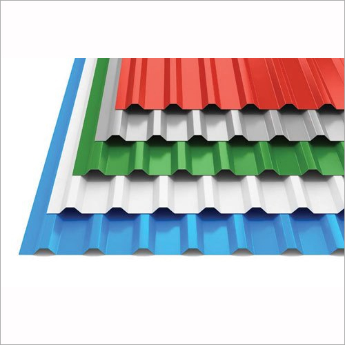 Blue Steel Stainless Steel Color Profile Sheet For Commercial Thickness Of Sheet 0.5 Mm