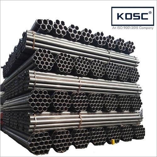 Black ERW Steel Scaffolding Pipe