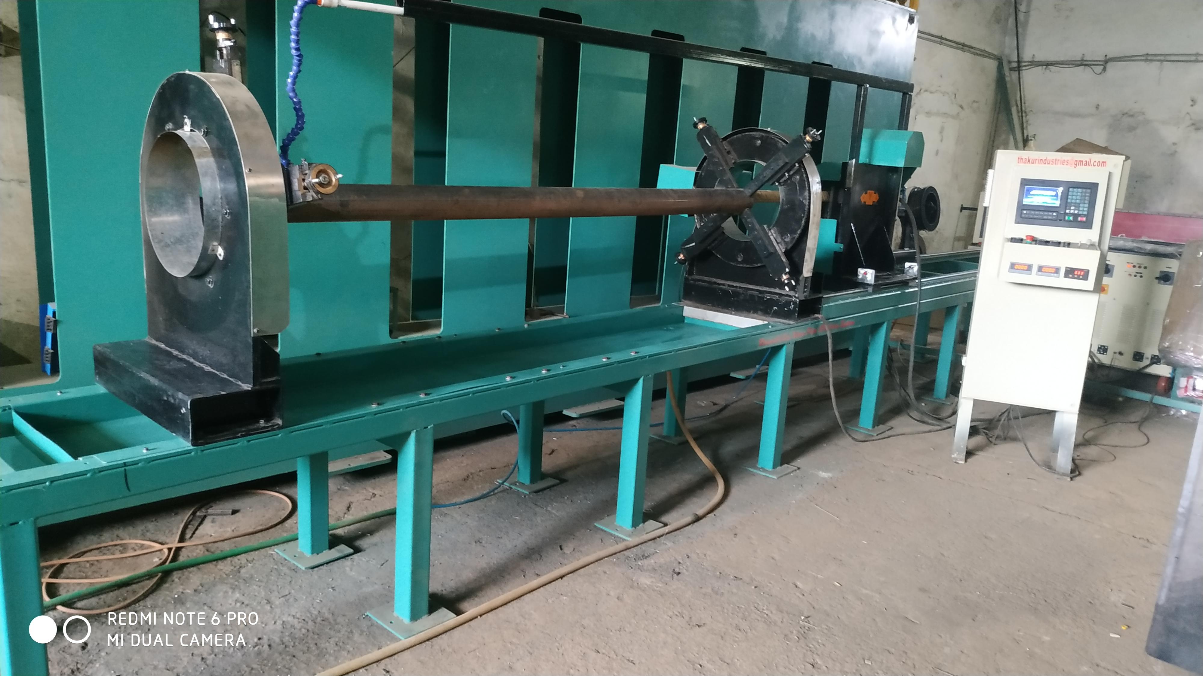 PIPE INSIDE CLADDING Machine