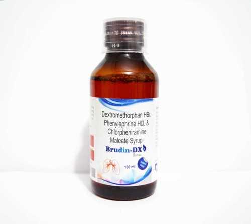 Bromhexine (4mg/5ml) + Guaifenesin (50mg/5ml) + Menthol (2.5mg/5ml) + Terbutaline (1.25mg/5ml)