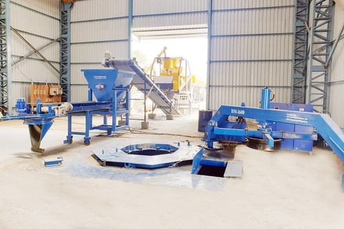 BM-1600 Vertical Concrete Pipe Making Machine