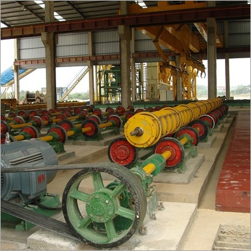 Spun Pole Making Machine