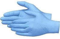 Blue Powder Free Disposable Nitrile Exam Gloves