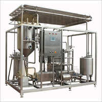 Industrial Milk Pasteurization Plant