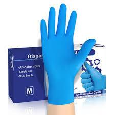 Nitrile Examination Gloves for Medical Use