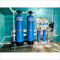 1000 LPH Semi Automatic Commercial RO Plant