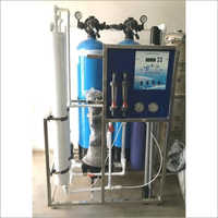 600 LPH Compaq FRP Industrial RO Plant